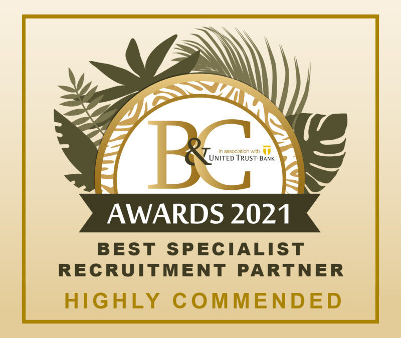 Valorem Partners wins Highly Commended award at The 2021 B&C Awards